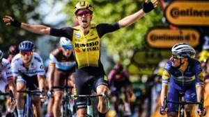SPORTMOMENT VAN HET JAAR. Wout van Aert wint tiende rit in de Tour