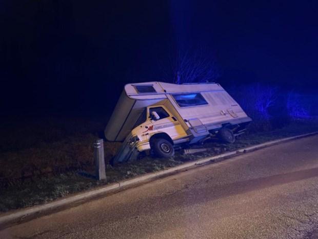 Bestuurder gewond bij ongeval in Kontich