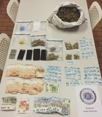 Meer dan kilo cannabis gevonden na controle op vuurwerk