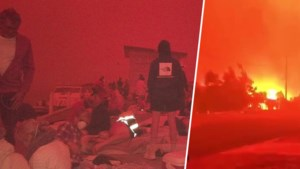 Twee doden en duizenden Australiërs vast op strand door oprukkende bosbranden