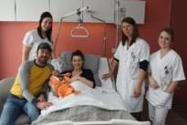 Lio uit Geel is eerste Kempense baby van 2020