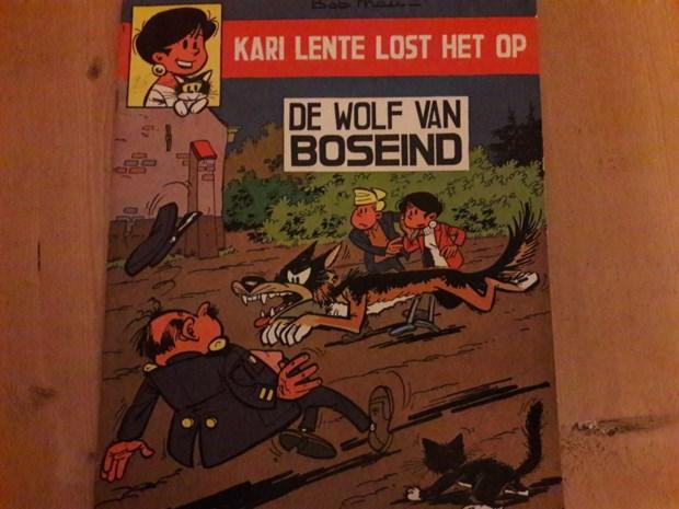 Striptekenaar Bob Mau liet al wolf door Antwerpse Kempen dwalen