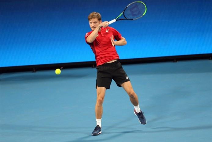 Belgen onder druk na verlies tegen Groot-Brittannië op ATP Cup