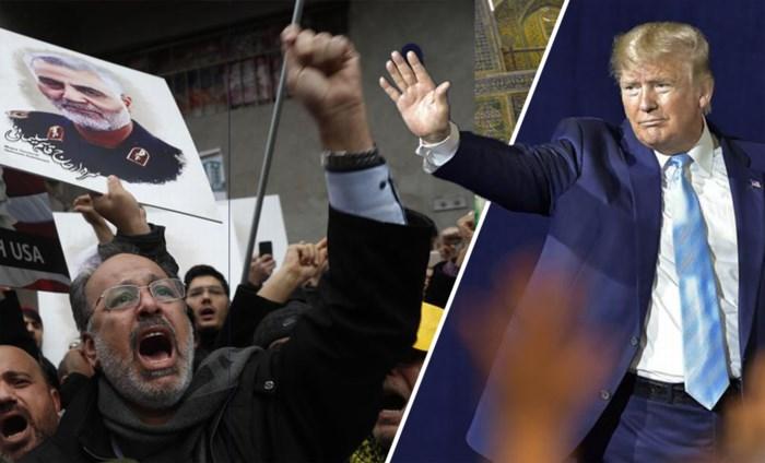 Crisis met Iran dreigt over te koken: premie van 80 miljoen op hoofd van Trump