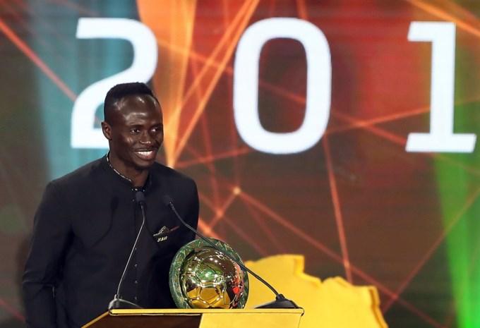 Sadio Mané is Afrikaans Voetballer van het Jaar