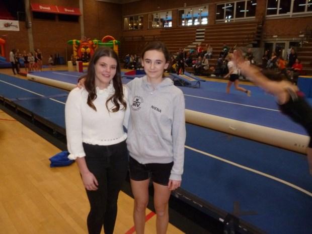 Niena's Gymnastiek for Life brengt 4.200 euro op