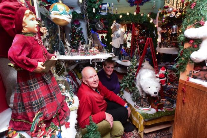 """Befaamd kersthuis zamelt geld in voor Make-A-Wish: """"We zijn nog wel even bezig met de opruiming"""""""
