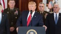 Trump slikt dreigementen tegen Iran in na raketaanval (maar kondigt wel sancties aan)