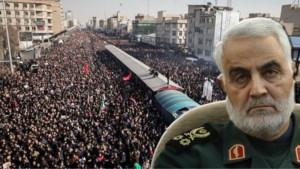 Minstens 32 doden bij massapaniek tijdens begrafenis van generaal Qassem Soleimani