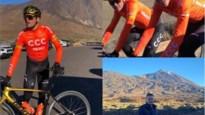 "Greg Van Avermaet traint in eerste week van het jaar al op meer dan 2.000 meter hoogte ""Ik wilde eens wat anders"""