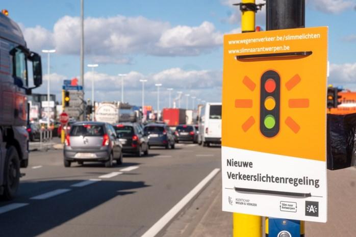 Aantal Antwerpse kruispunten met slimme verkeerslichten verdubbelt dit jaar