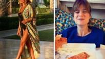 Gluren bij BV's: Evy Gruyaert laat het kind in zich los, Natalia toont buikje in bikini