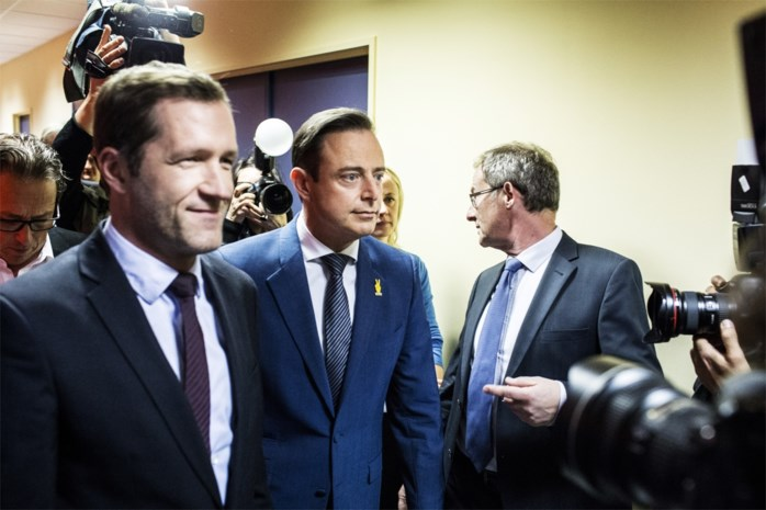 Informateurs praten met N-VA-voorzitter De Wever en PS-voorzitter Magnette