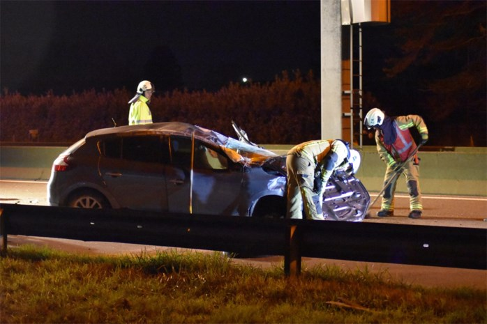 Vrouw raakt zwaargewond bij ongeval op E313