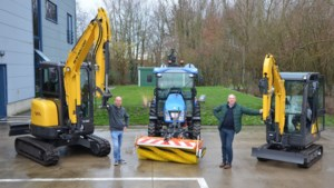 Gemeentelijke technische dienst Berlaar krijgt er twee kranen en tractor bij