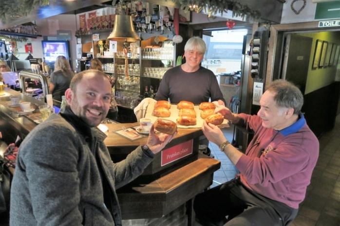 """'Warme' cafébaas JP van De Salamander maakt worstenbroden zelf: """"De beste van heel Schoten"""""""