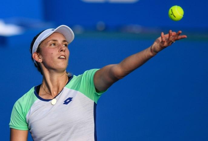 Elise Mertens blijft op koers voor derde titel in Hobart