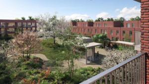 Restwarmte van Agfa goed voor 350 nieuwe woningen