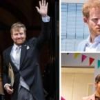 ROYALS. Queen kiest voor schattig accessoire, Zweedse royals tussen de regenbogen