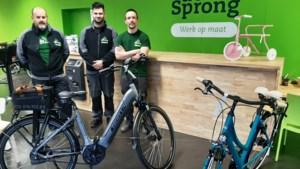 De Sprong vzw opent nieuwe fietsenwinkel in Meerhout