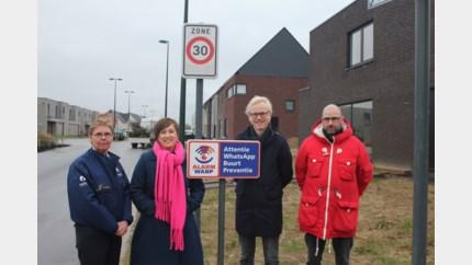Stripfigurenwijk Temse is eerste woonwijk in de gemeente met een eigen buurtinformatienetwerk