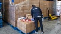 Recordvangst van 126 miljoen illegale sigaretten in Antwerpse haven, Stabroek en Brecht