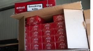 Recordvangst van 126 miljoen sigaretten in haven, Stabroek en Brecht