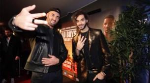 Adil & Bilall scheuren naar Belgische avant-première van 'Bad boys for life'