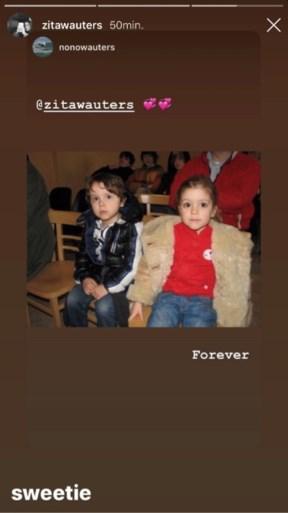 Zita en Nono Wauters steunen hun ouders Koen en Valerie na de breuk