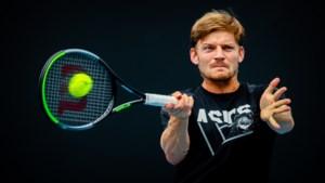 David Goffin bereidde zich voor op Australian Open met Federer en Medvedev