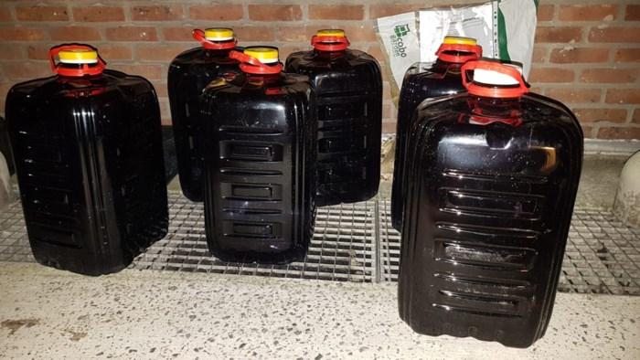 Benzinedieven ingerekend na sanitaire stop in Willebroek