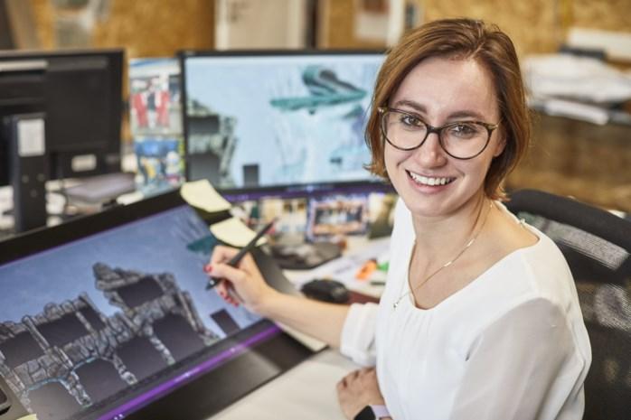 """Michelle (25) werkt als ontwerpster voor waterpretpark in Duitsland: """"Dit is waar ik als kind al van droomde"""""""