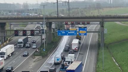 Grote hinder op Antwerpse Ring door ongeval