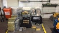 Meer dan een ton cocaïne met bestemming Antwerpen onderschept in Brazilië