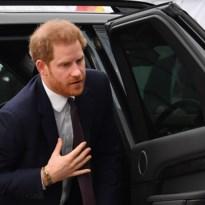 Prins Harry aangekomen in Canada