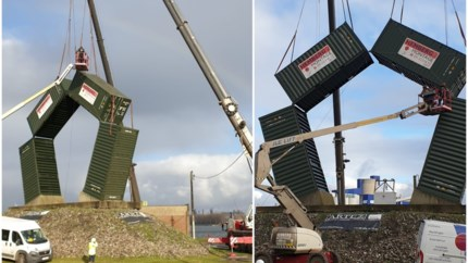 Kempense firma renoveert kunstwerk in Gentse kanaalzone