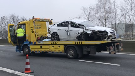 Brokken op de snelweg
