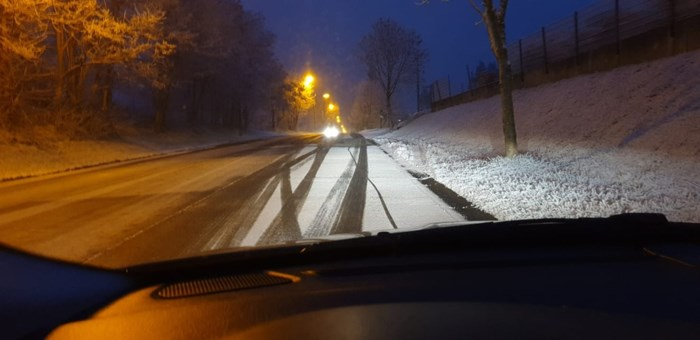 Eerste 'sneeuw' in Vlaanderen is gevolg van luchtvervuiling