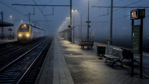 Brussel-Mol minst stipte trein van Vlaanderen