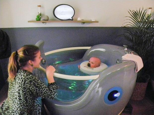 """Ann Engelen opent wellness Baby Time: """"Mijn klantjes gaan slapend buiten"""""""