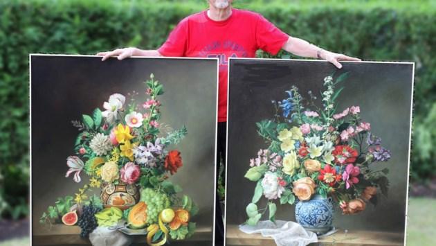 """Sultan van Oman verzot op bloemstillevens van schilder uit Schoten: """"Mijn meest bijzondere opdracht"""""""