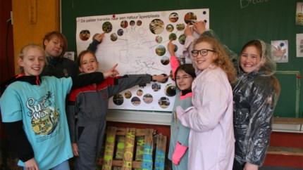 Leerlingen De Palster bouwen mee  aan eigen speelplaats