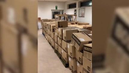 Gestolen compressoren na twee jaar in Kempens bos teruggevonden
