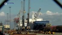Protest tegen Saoedisch schip in Antwerpse haven