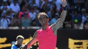 Australian Open: Rafael Nadal stoot vlot door, Karolina Pliskova moet koffers pakken