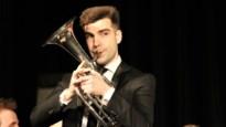 """Tim De Maeseneer stelt eerste solo-cd tenorhoorn voor: """"Wondermooie creatie"""""""
