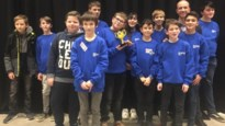 Leerlingen winnen award tijdens internationale finale First Lego League