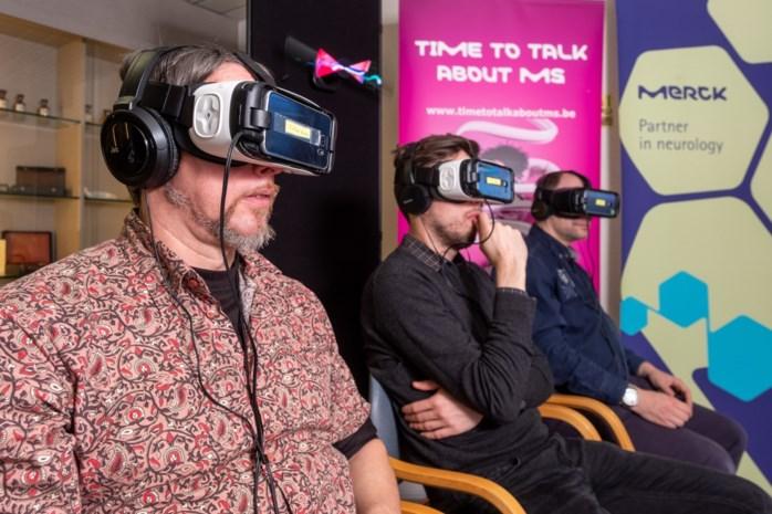 """VR-beelden tonen hoe hersenen van mensen met MS of migraine werken: """"Een baanbrekende technologie"""""""