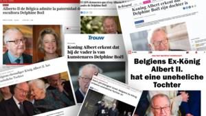 """Bekentenis van koning Albert haalt ook in buitenlandse media krantenkoppen: """"Het ging haar altijd om de erkenning"""""""