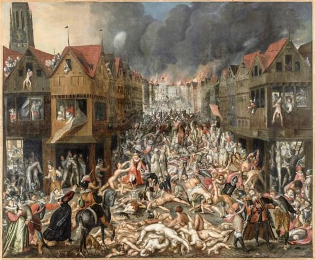 """Historicus Jan Lampo begrijpt herdenking van Spaanse Furie niet: """"In de zestiende eeuw sprak men al van oorlogsmisdaad"""""""